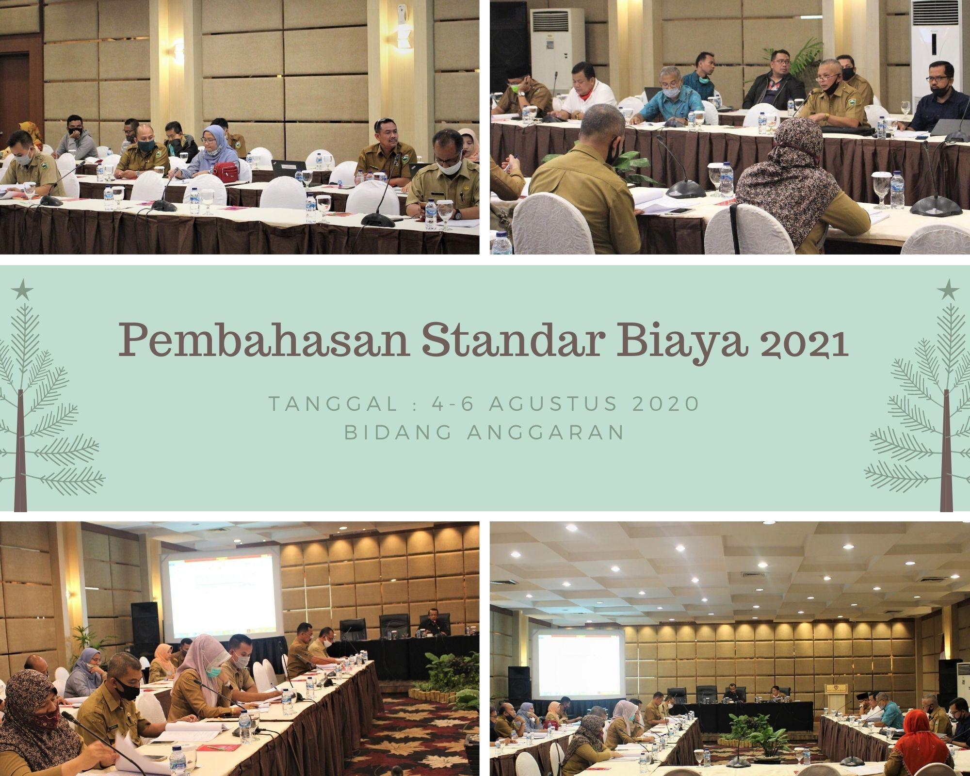PEMBAHASAN PERBUP TENTANG STANDAR BIAYA SIPD TAHUN 2021 (SSH, SBU, HSPK DAN ASB)