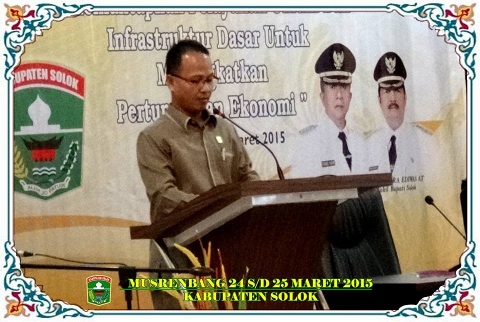 Musrenbang Kabupaten Solok