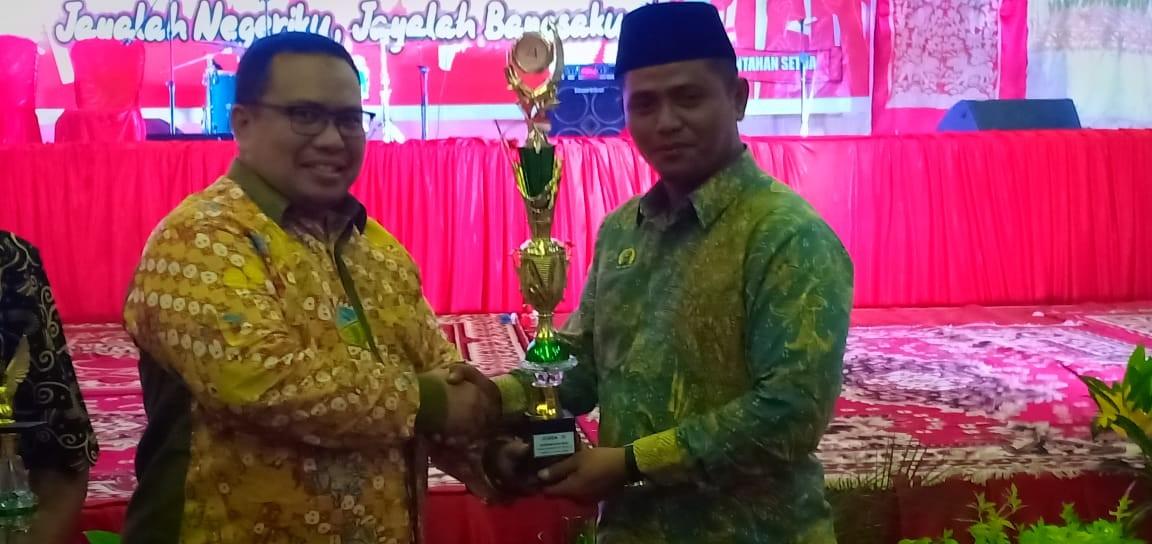 BKD Kabupaten Solok Meraih Juara 3 Lomba Pawai Alegoris Tingkat SKPD