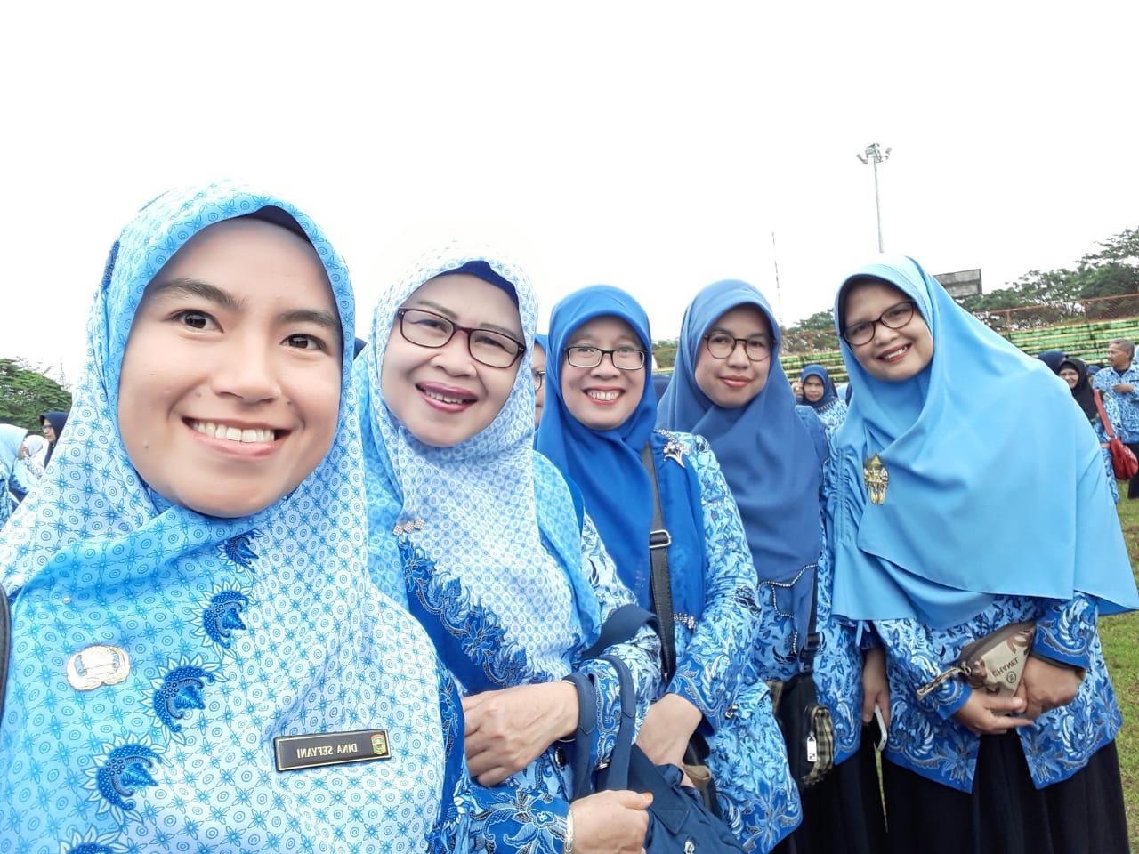 Para Srikandi Badan Keuangan Daerah Kab. Solok